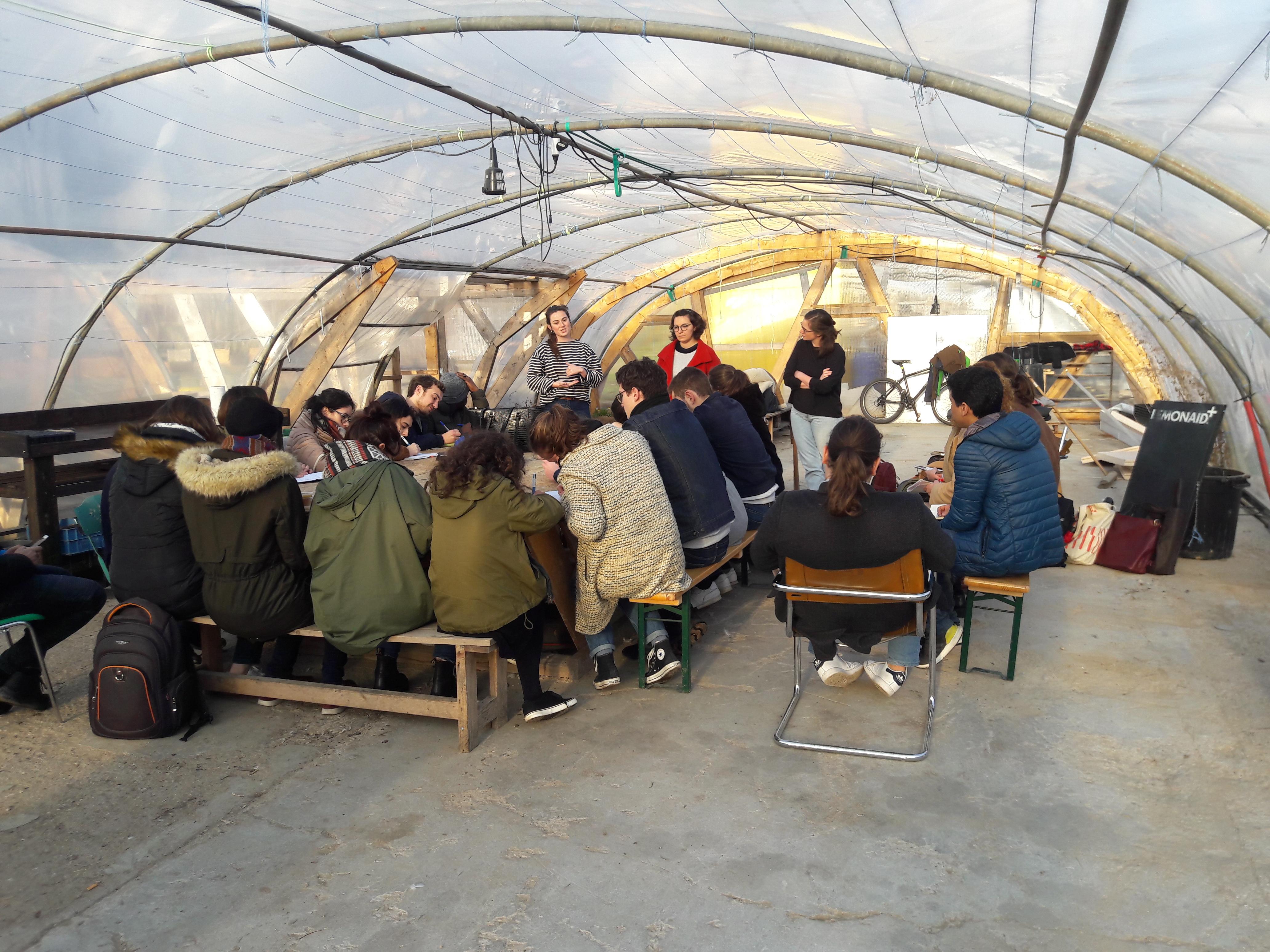 Urbanisme temporaire et transitoire : organisation d'un cours à l'École d'urbanisme de Paris
