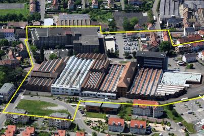 Plan directeur de développement urbain des friches du Haut de la Ville à Guebwiller (Haut-Rhin)