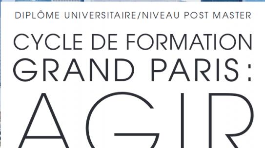 Formation à l'Institut Paris Région / EUP