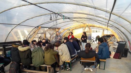 Urbanisme temporaire et transitoire à l'École d'urbanisme de Paris